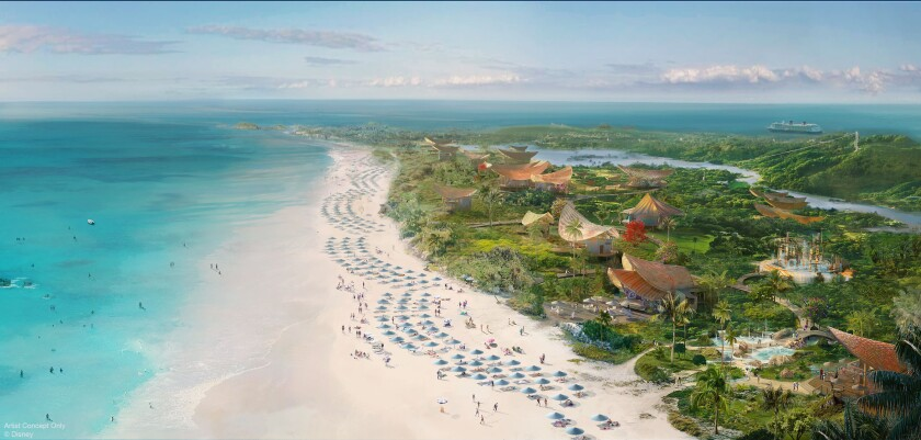 A rendering of Lighthouse Point in the Bahamas