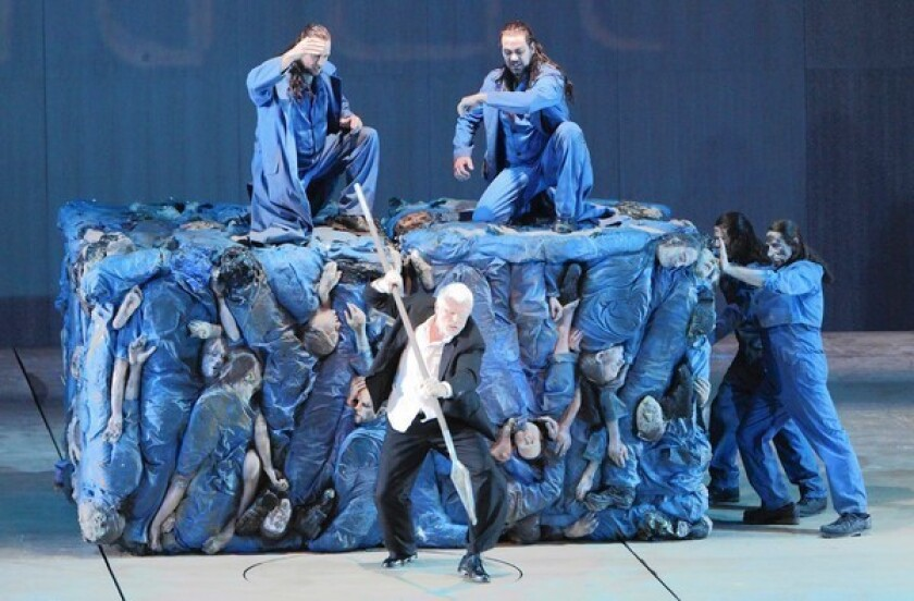 """Andreas Kriegenburg's new production of Richard Wagner's """"Der Ring des Nibelungen"""" at the Bavarian State Opera in Munich."""