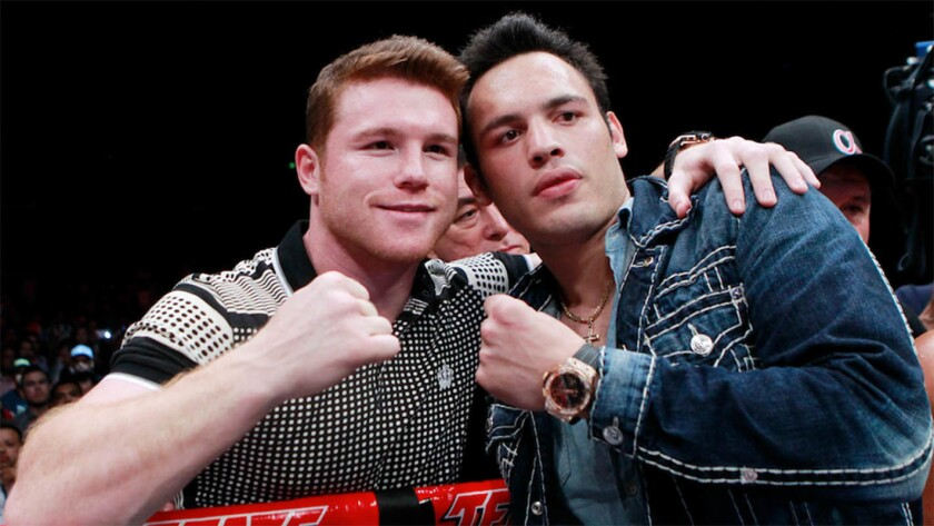 'Canelo' Álvarez y JC Chávez Jr...choque esperado.