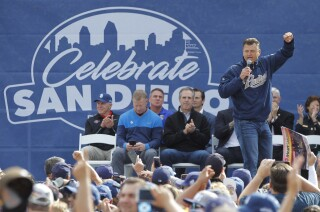 """San Diego sports teams, fans unite at """"Celebrate SD"""" at Petco Park"""
