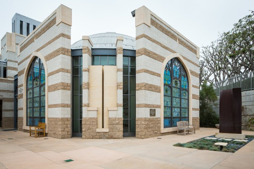 The exterior of Congregation Beth Israel