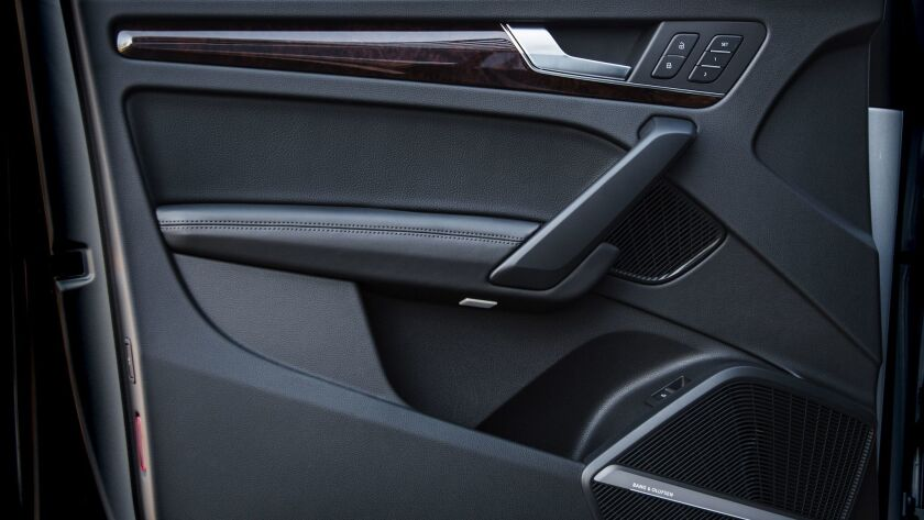 the Q5 has that custom-tailored fit and finish throughout.