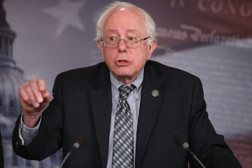 Sen. Bernie Sanders of Vermont introduces a bill to strengthen Social Security.