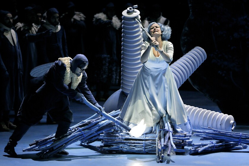 """""""Lohengrin"""" at the Bayreuth Festival"""
