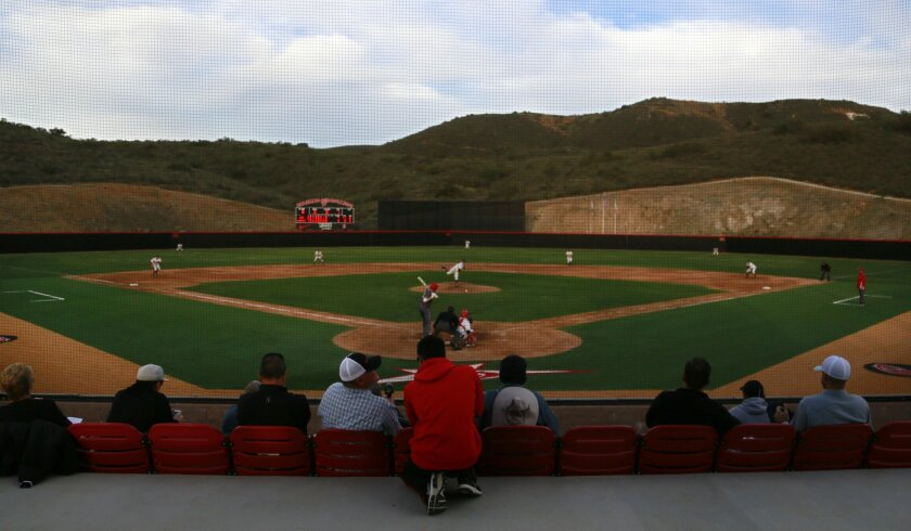 In addition to the baseball field, the building project at Palomar College calls for a new softball field, football stadium, tennis courts, sand volleyball courts, a swimming complex, a gym, a science building and a parking structure.