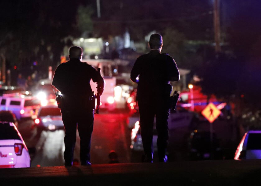 People leave the Gilroy Garlic Festival after a deadly shooting on July 28.