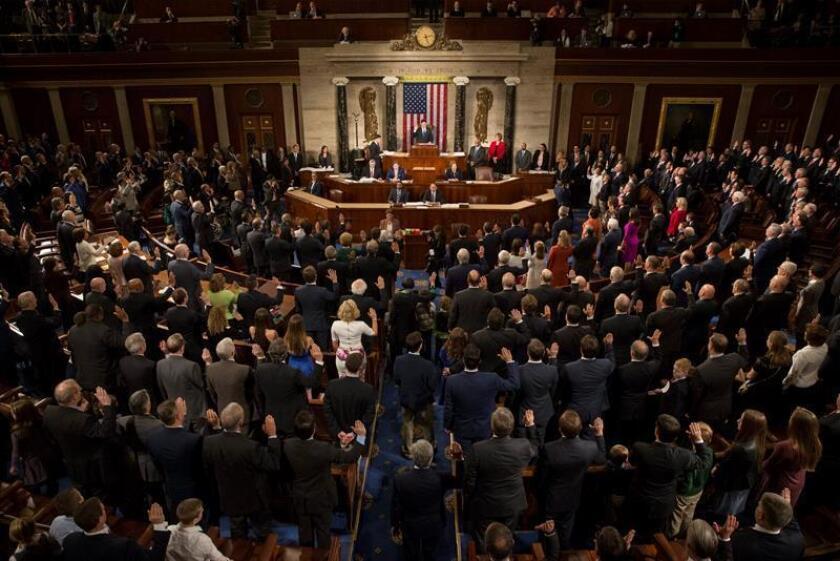 La Cámara de Representantes aprobó hoy por unanimidad una resolución de condena al Gobierno del presidente de Nicaragua, Daniel Ortega, que lo responsabiliza de la grave crisis que está viviendo el país centroamericano, donde más de 300 personas han muerto. EFE/ARCHIVO