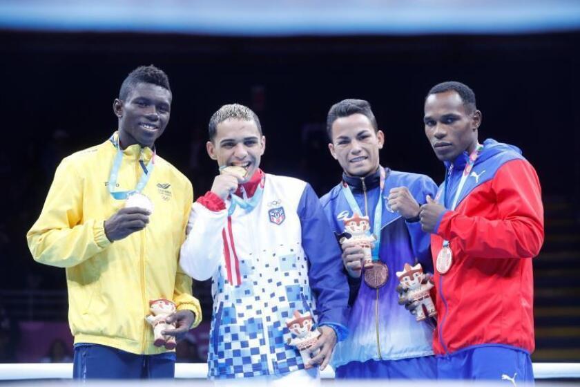 Cuba completa barrida en el boxeo masculino y Colombia reina en el femenino