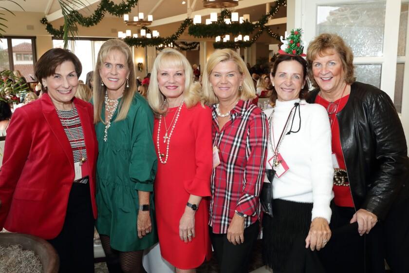 Mary Pappas, Nancy Hillgren, Joan Kaestner, Connie Pittard, Becky Horowitz, Julie Klaus