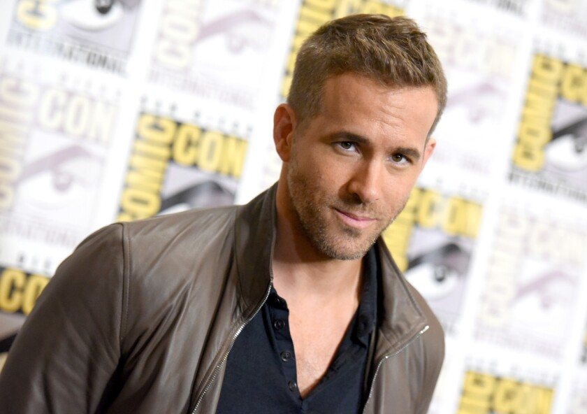 Actor Ryan Reynolds, shown, is mourning the loss of his father. James Chester Reynolds died Oct. 25 after battling Parkinson's disease.