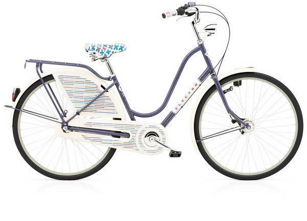A -- Amsterdam Girard, Electra cruiser bike designed by midcentury artist Alexander Girard