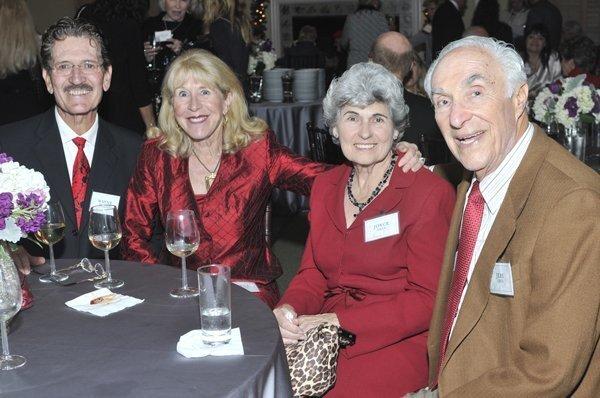 Wayne and Lorna Pannell, Joyce and Jere Oren