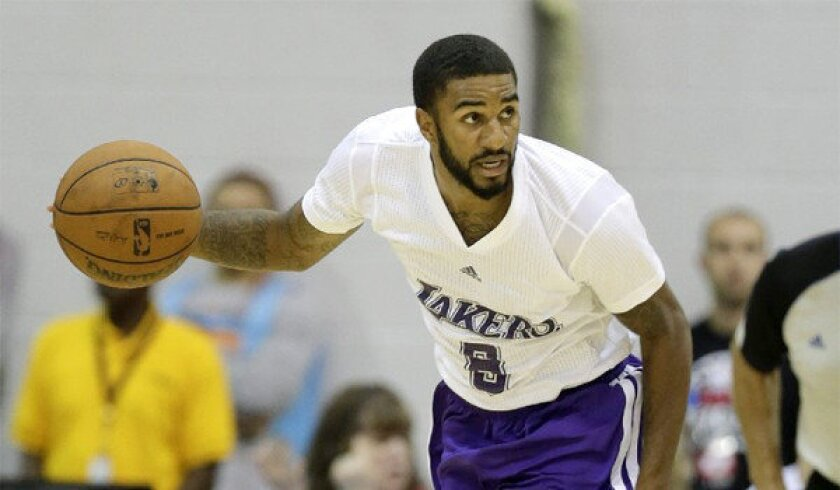 D.J. Seeley had six points in just under 15 minutes for the Lakers during L.A.'s 70-62 loss to the Cleveland Cavaliers in their Las Vegas Summer League opener on Friday.