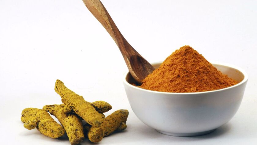 Curcumin, a component of the curry spice turmeric, is a popular item in the specialty supplements ca
