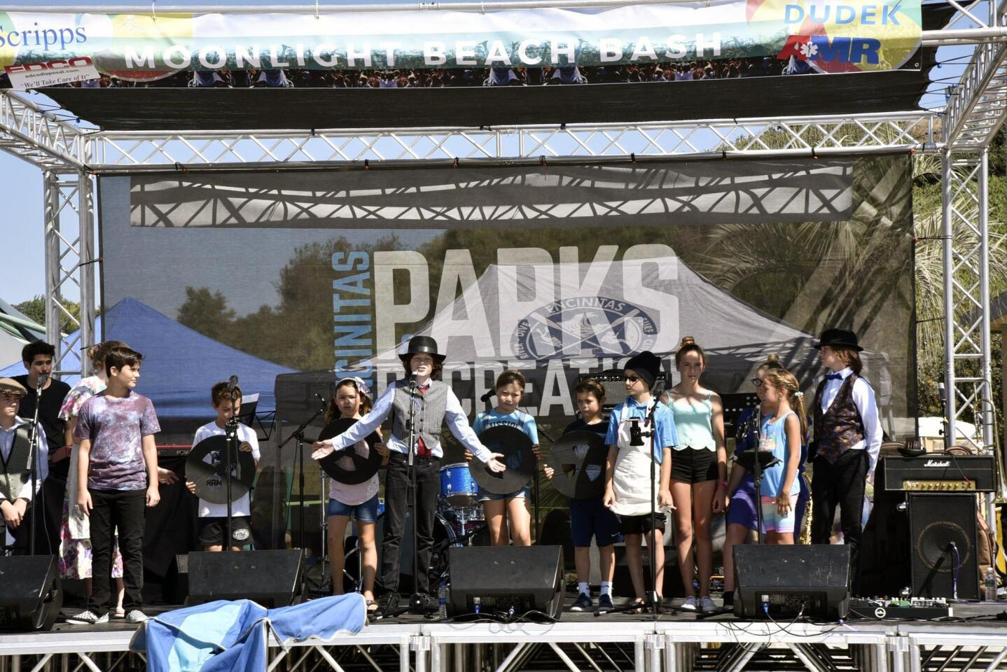 Park Dale Players were the opening act at the festival
