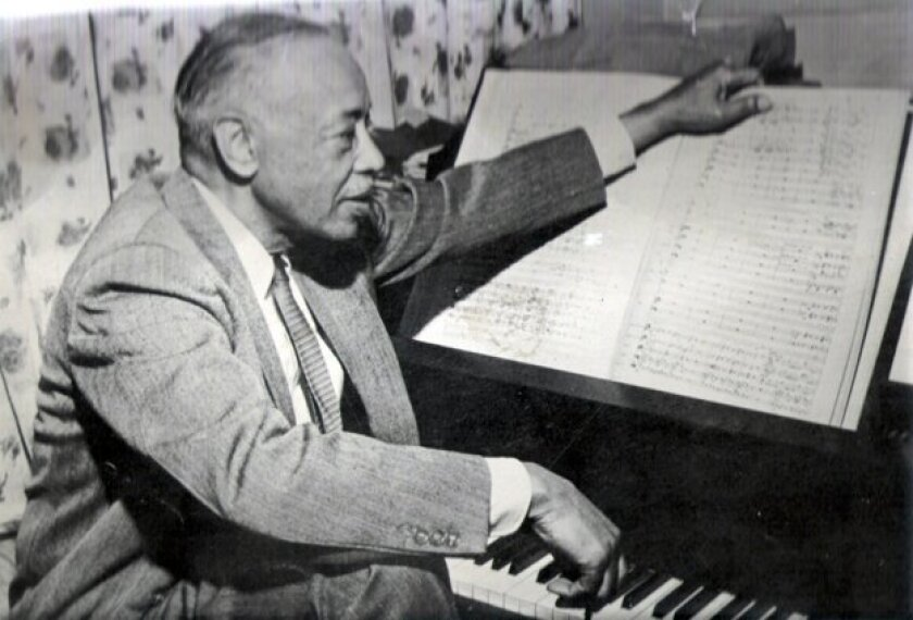 William Grant Still (1895-1978) wrote more than 150 compositions. He is often referred to as 'the Dean' of African-American composers.