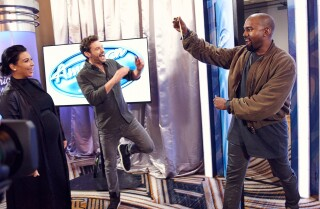 Surprise! Kanye West stuns 'American Idol' judges with an audition