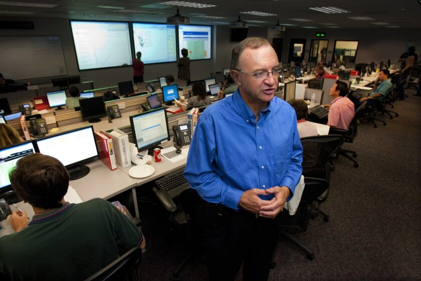 SDG&E President Mike Niggli at the operations center