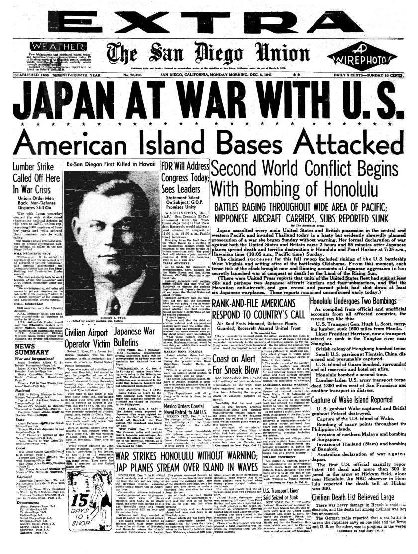 Dec-8-1941-Union-extra-front-page.JPG