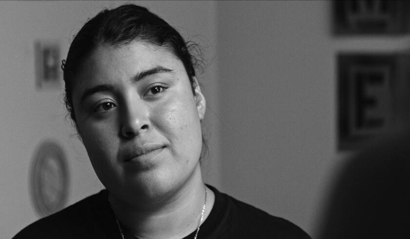 "Monica Betancourt in the movie ""La Leyenda Negra."""