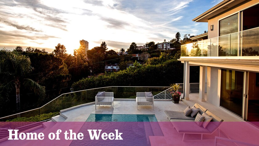 Home of the Week | Hollywood Hills contemporary is big on the views, swimming pools