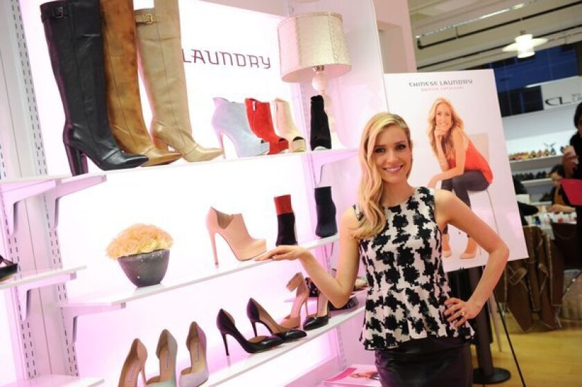 Kristin Cavallari says she's focusing on family and her business plans rather than acting.