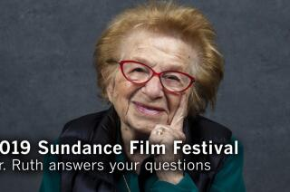Dr. Ruth Westheimer answers your questions