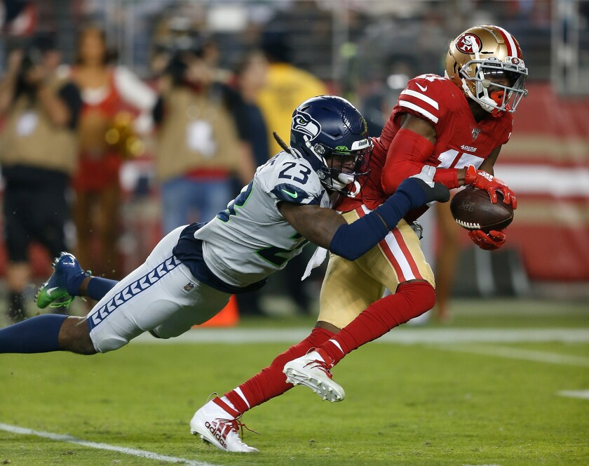 ***BESTPIX*** Seattle Seahawks v San Francisco 49ers