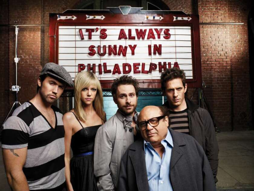 """""""It's Always Sunny in Philadelphia"""" will move from FX to FXX."""