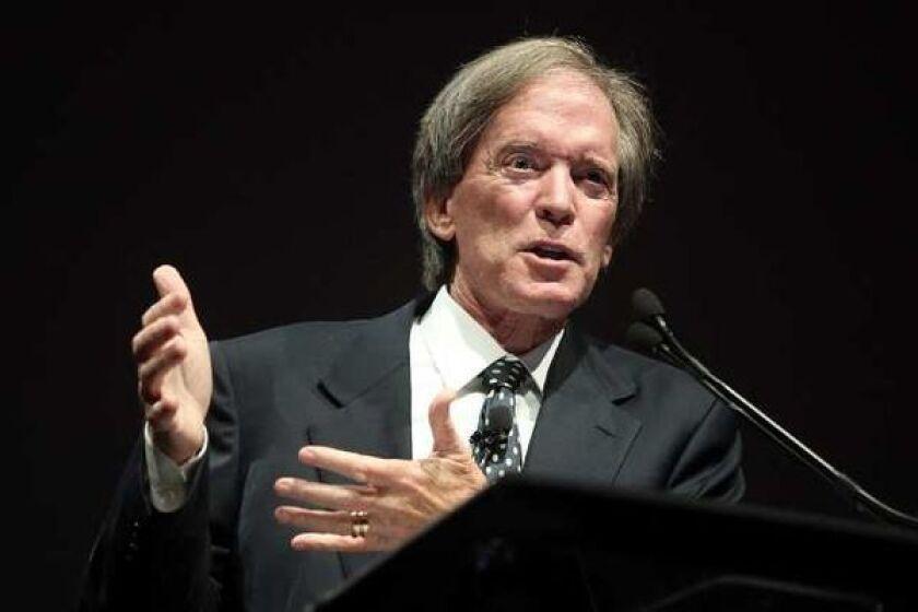 Former Pimco portfolio manager Bill Gross speaks at an event.
