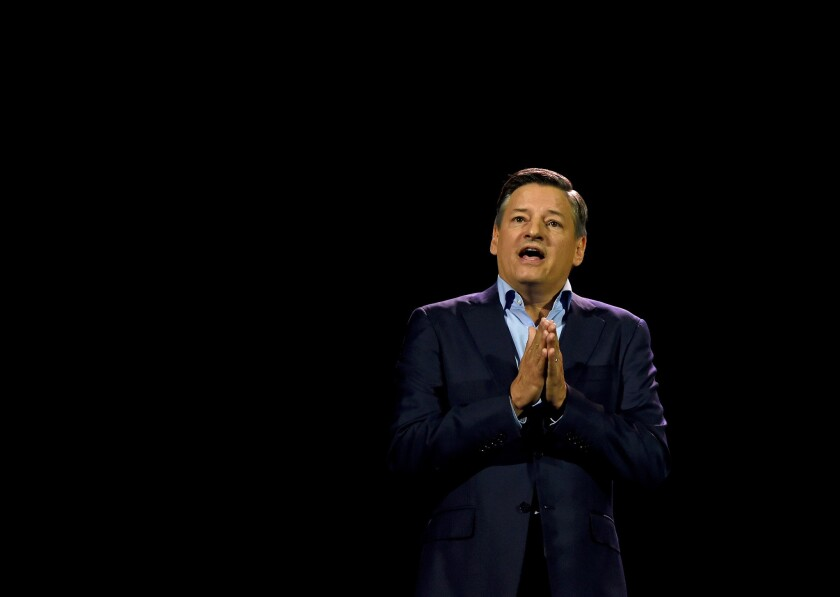 Netflix's Ted Sarandos announced a COVID-19 relief fund for workers in TV and film