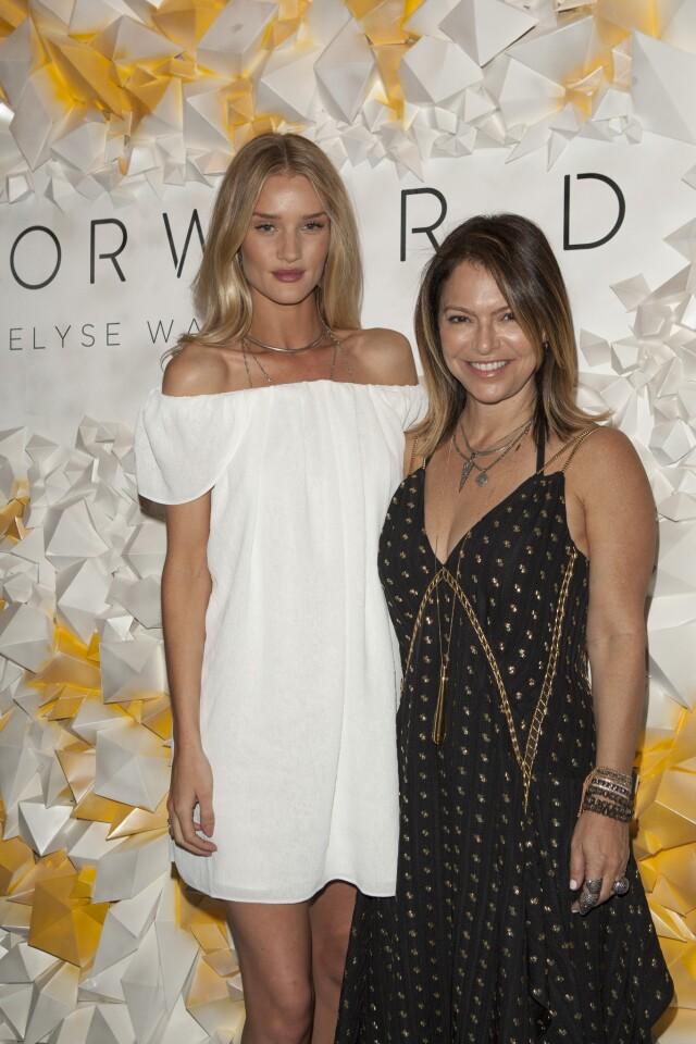 Forward for Elyse Walker and Rosie Huntington-Whitely host the Soho House pop-up
