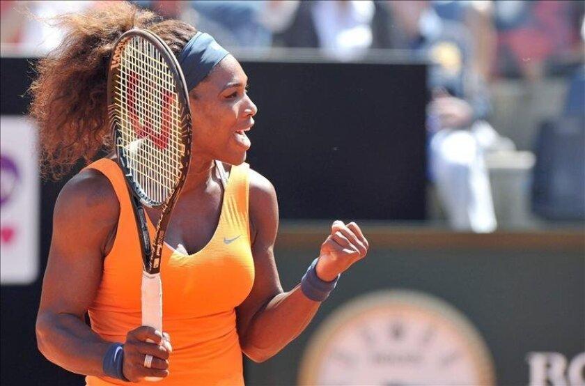 La mejor raqueta femenina del mundo, la estadounidense Serena Williams. EFE/Archivo