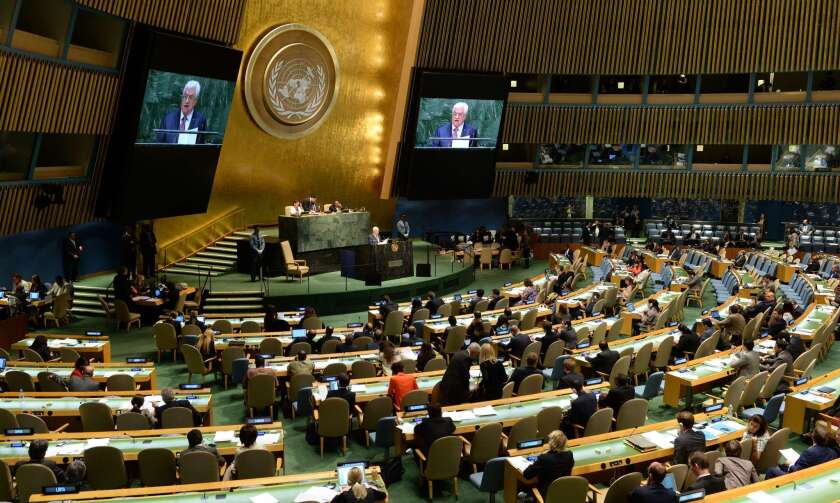 UN-GENERAL ASSEMBLY-PALESTINE