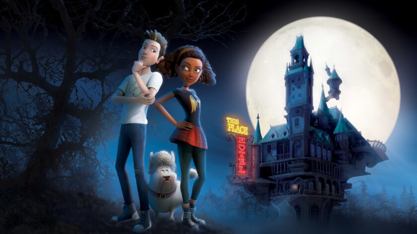 "This image released by CBS shows characters from the animated special, ""Michael Jackson's Hallow"