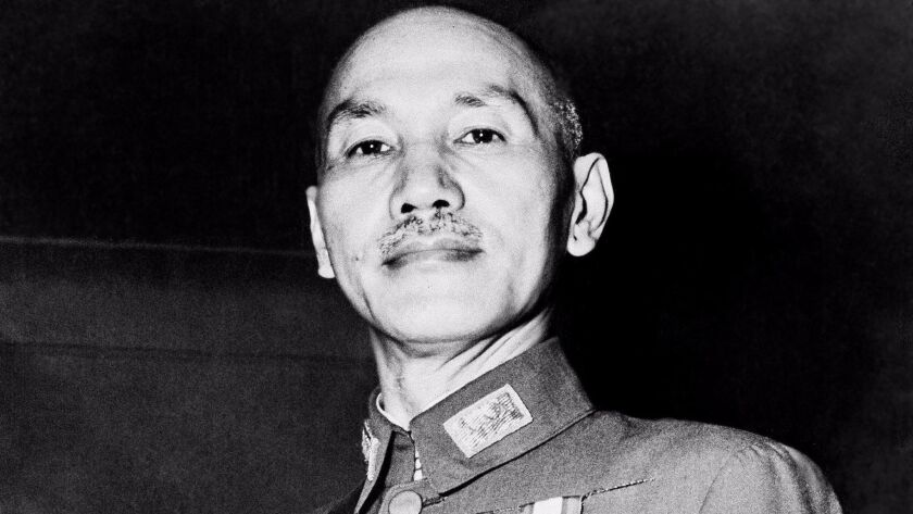 Chiang Kai-shek in 1943, before the Nationalists fled the Chinese mainland for Taiwan. Among his many titles was generalissimo.