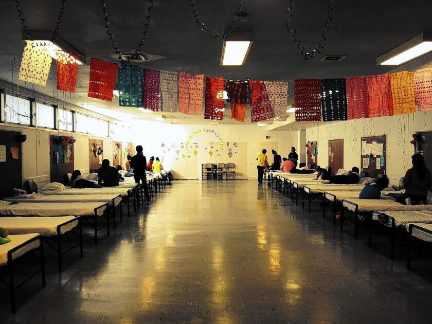 Migrant youth shelter