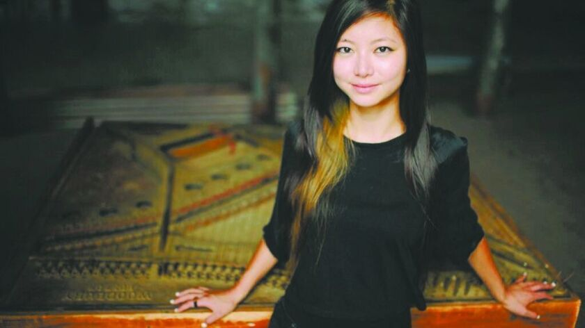 Pianist Vicky Chow will perform as part of the Fresh Sound music series.