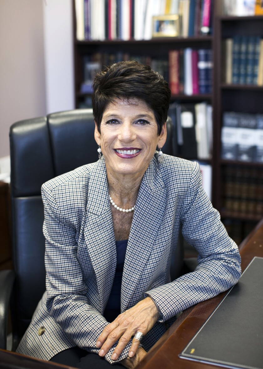 Judicial candidate Roberta Winston.