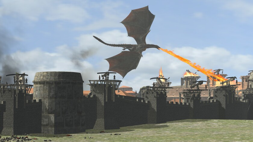 Drogon - 'Game of Thrones'