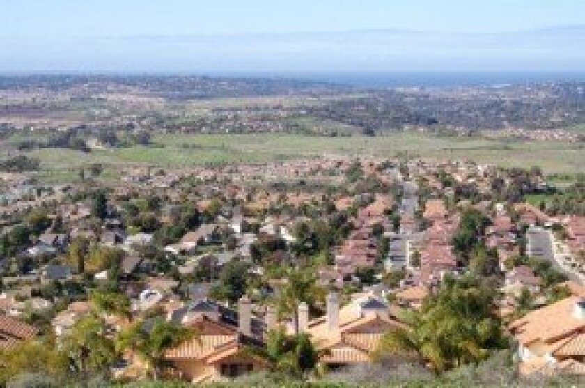 Rancho Santa Fe properties are regaining value as we move into the New Year, making for a bright horizon for homeowners and potential investors alike. Photo Credit: Donna Coleman, Photos.com