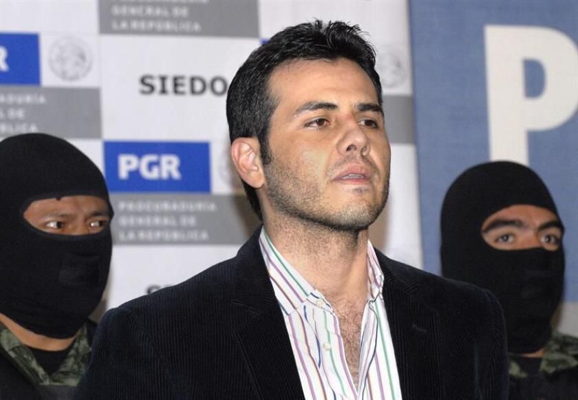 """El mexicano Vicente Zambada Niebla, """"Vicentillo"""", quien fuera el jefe de logística del Cartel de Sinaloa en los Estados Unidos, se declaró culpable de nuevos cargos de tráfico de drogas en la causa que se le sigue desde 2009 en Chicago. EFE/ARCHIVO"""