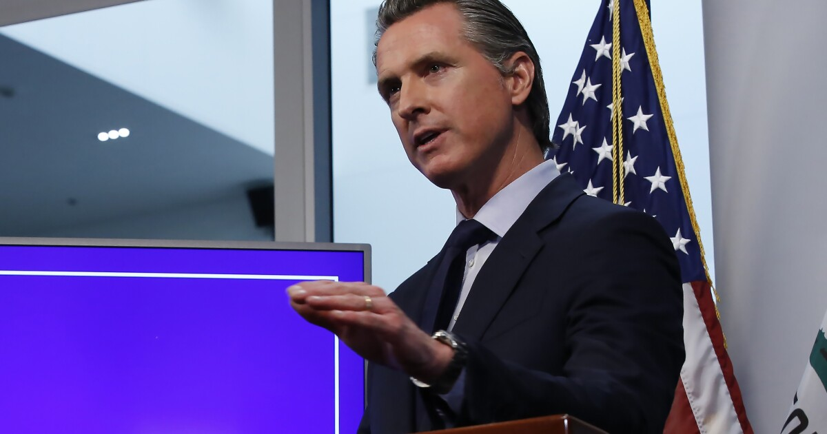 Stuck between allies in tech and labor, Newsom won't weigh in on Uber-backed Prop. 22