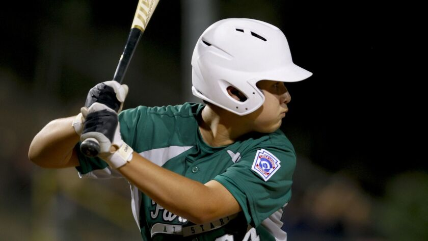Park View's Jose Mendoza (shown in Sunday's game) hit a three-run homer to spark the team in Tuesday's victory.