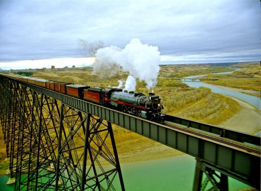 Canadian Pacific's 2816 Empress steam train
