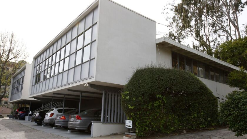Suite 8 is located in this midcentury building in Silver Lake.