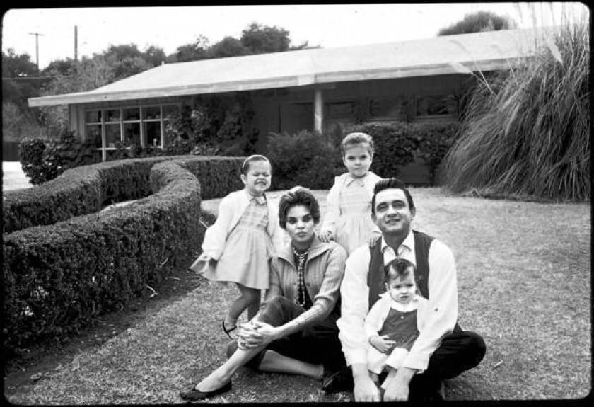 Johnny Cash's dark California days