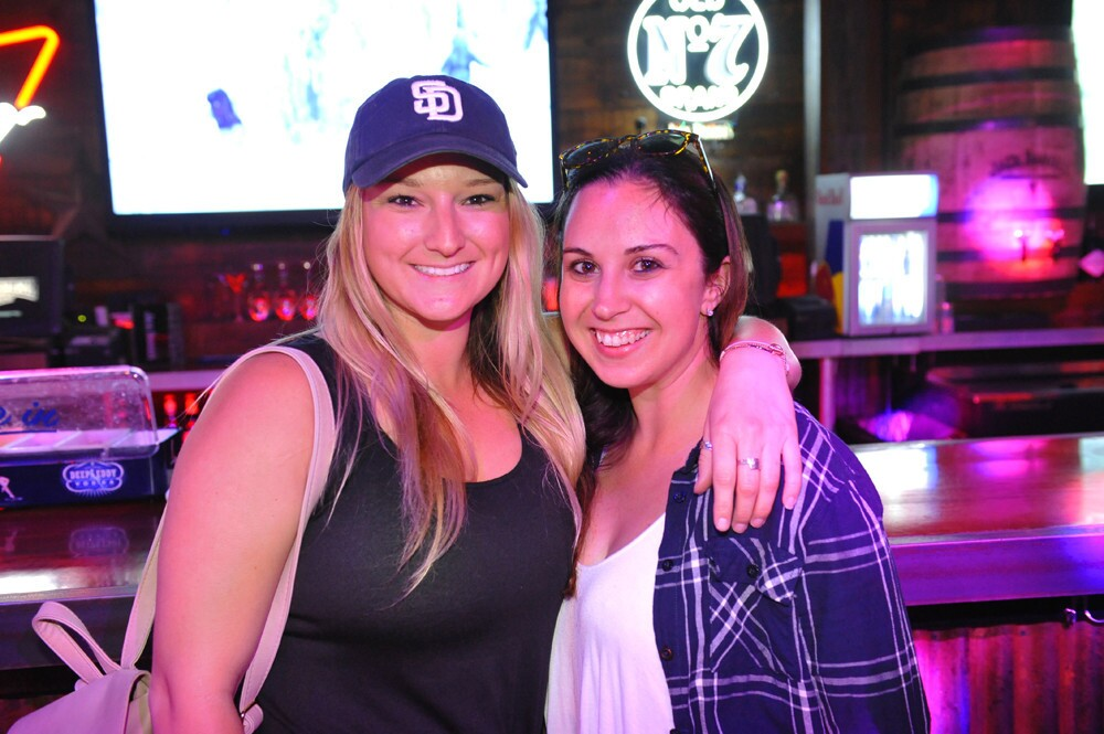San Diegans partied at Moonshine Flats before cheering for the Padres during VAVi Day at Petco Park on Friday, April 13, 2018.