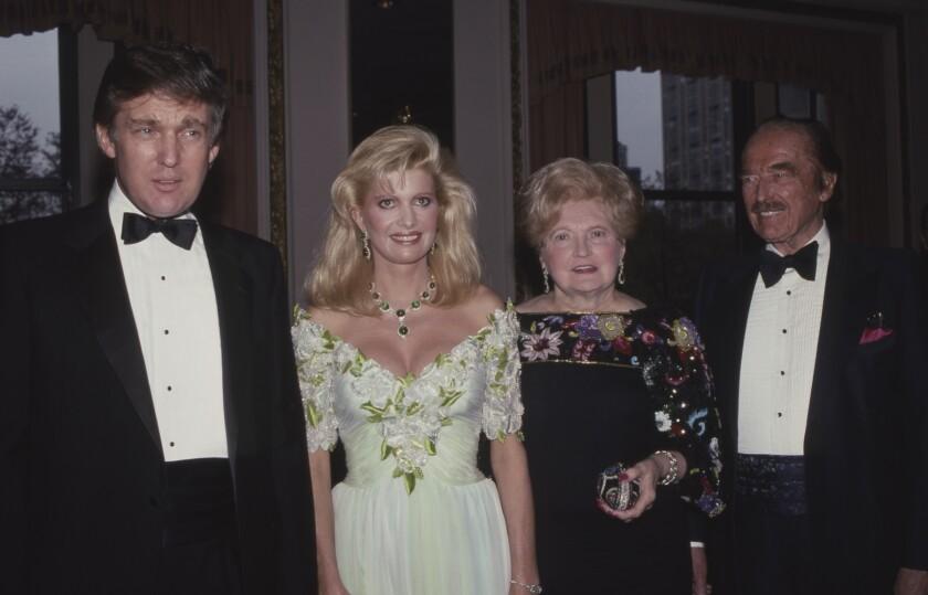 Donald Trump, Ivana Trump, Mary Trump and Fred Trump