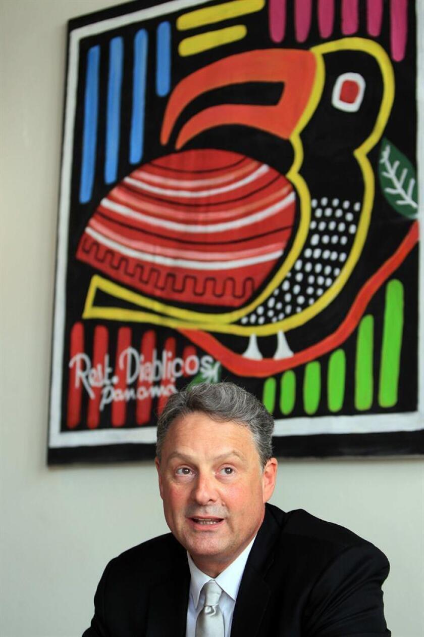 El embajador de EE.UU. en Panamá, John Feeley. EFE/Archivo